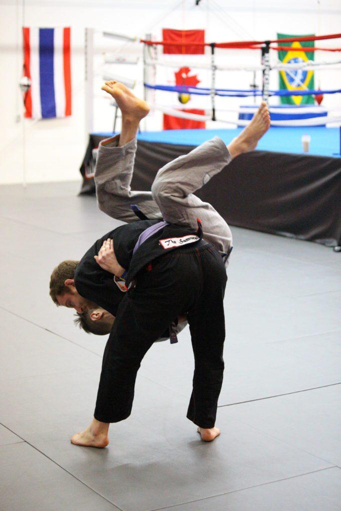 learn jiu jitsu